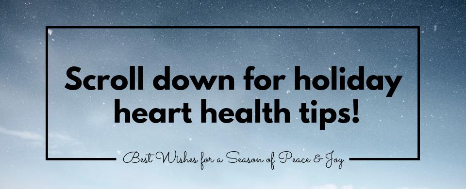 2018 Holiday Heart health
